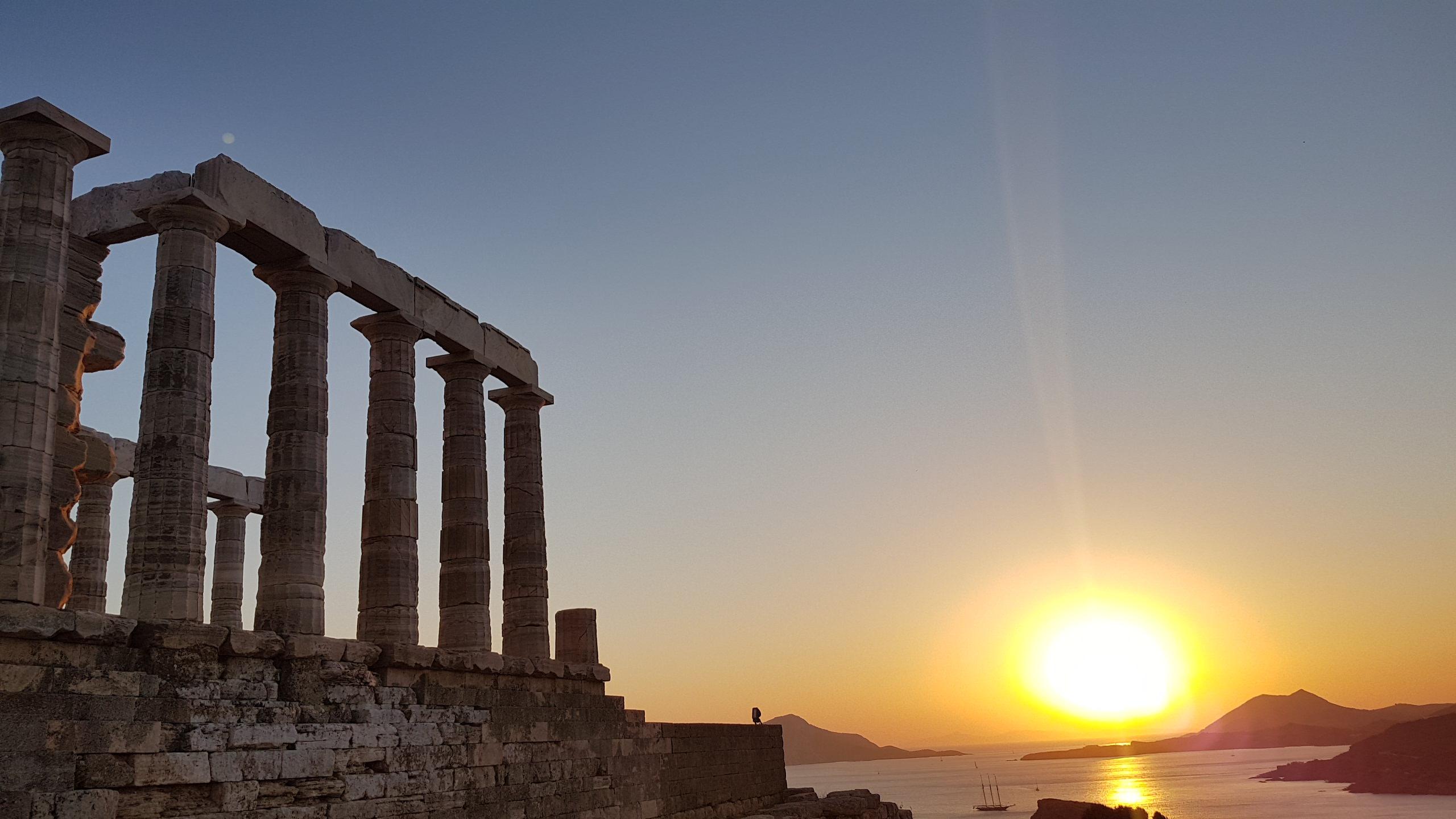 Athens Sounio, ruins, temple of Poseidon